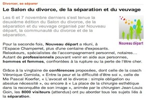 Le salon du divorce